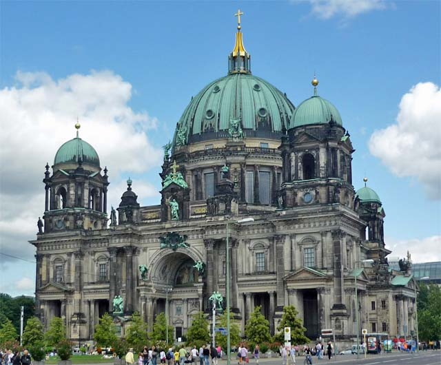 Berlin Lese Berliner Dom