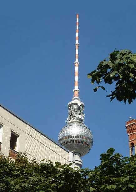 Parken Am Fernsehturm Berlin